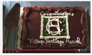 A Video: Dovecote Receives the Evergreen Award
