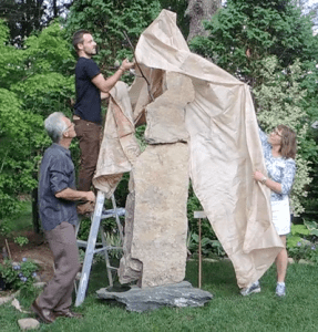 Garden Sculpture - A video