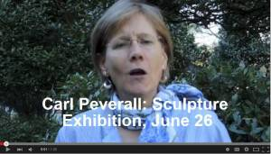A Video Invite: Sculpture in the Garden on June 26