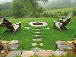 Enhance Your Landscape with an Outdoor Fireplace or Fire Pit