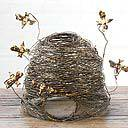 Wire Bee Skep