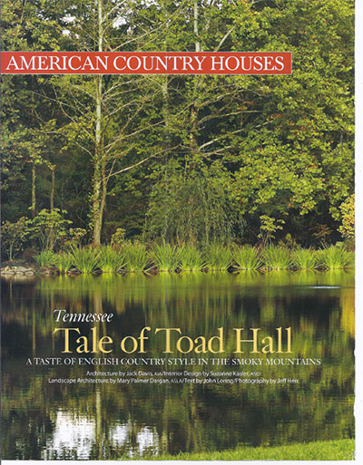 Toad Hall - Architectural Digest June 2019