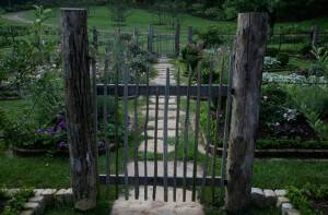 Hereu0027s Your Photo Of The Day: A Rustic Garden Gate We Used For Our Flower  And Herb Garden Plots In A Tennessee Mountain Retreat We Designed At Beall  ...