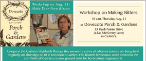 Bitters Workshop at Dovecote