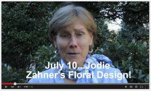 Video Invitation – Floral Design Workshop in Cashiers, NC