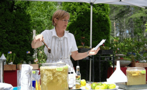 Demonstration on Making Elderflower Cordials