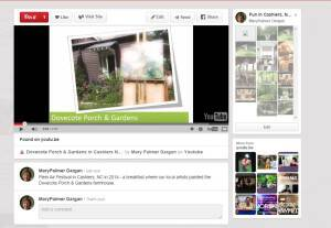 A Video of our Plein Air breakfast on Pinterest
