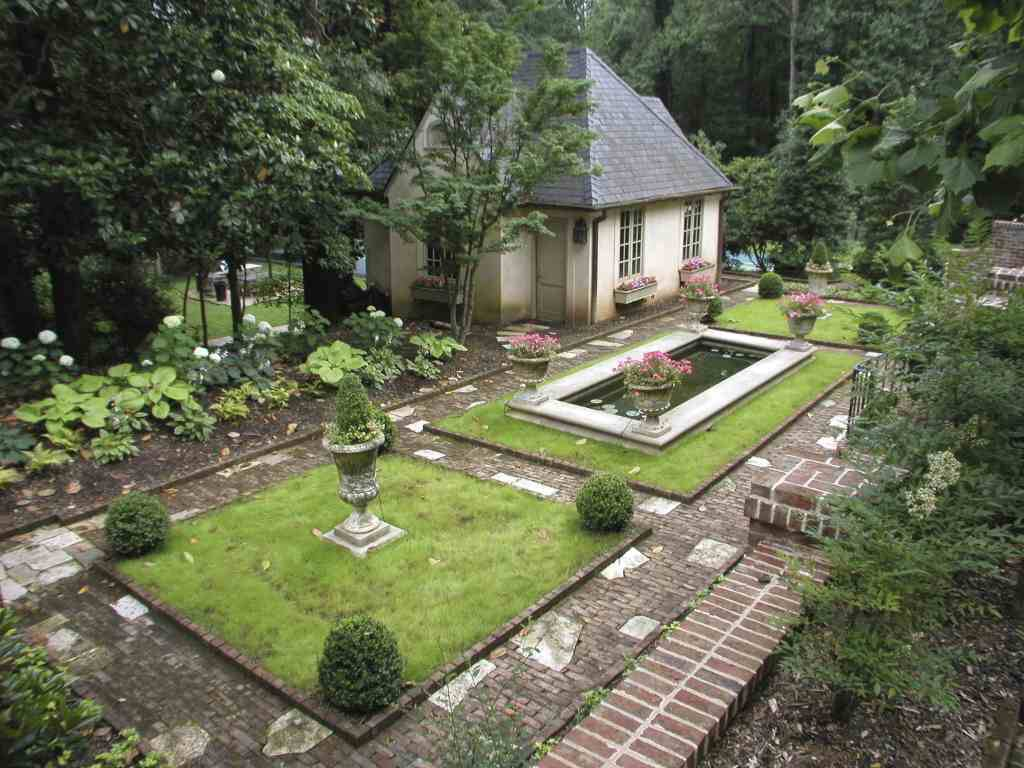 Historic Atlanta Garden. Historic Atlanta Garden. Our Atlanta Landscape  Design ...