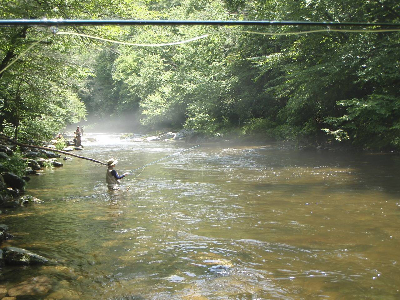 Fly fishing on cherokee reservation for Fly fishing cherokee nc