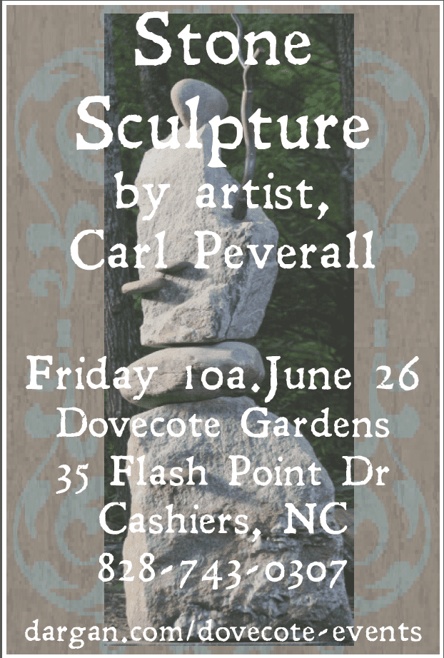 Peverall Sculpture event poster large
