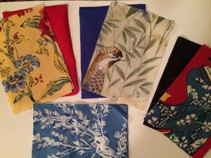 Fashions for Gardeners – Some Fabric Swatches