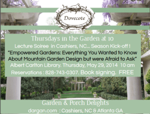 Lecture Soiree: Empowered Gardens: Everything You Wanted to Know About Mountain Garden Design But Were Afraid to Ask