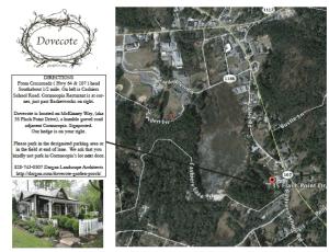 Every Thursday at Dovecote: All about North Carolina Garden Design Ideas!