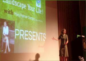 Learn About Creating the Oasis of Your Dreams at Mary Palmer's Rutgers University Lecture