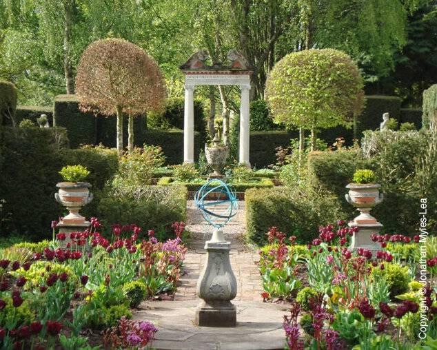 Historic sources of landscape design inspiration for Roman garden designs